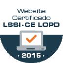 Website Certificado LSSI-CE LOPD