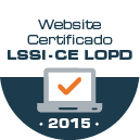 Website Certificado LSSI-CE LOPD